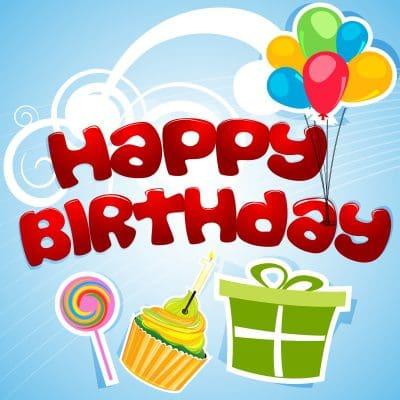 happy birthday messages, happy birthday phrases, happy birthday thoughts