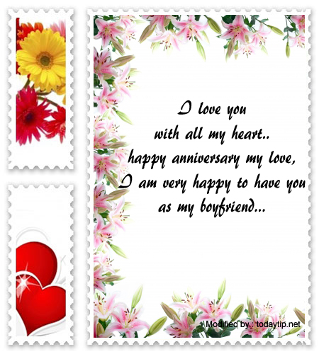 Wonderful Anniversary Messages For Your Boyfriend ...