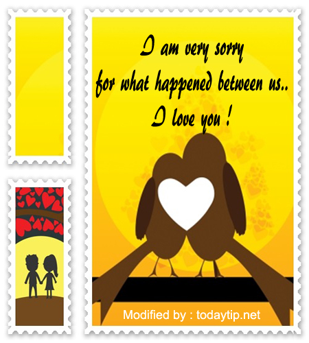 Cute Reconciliation Love Letters