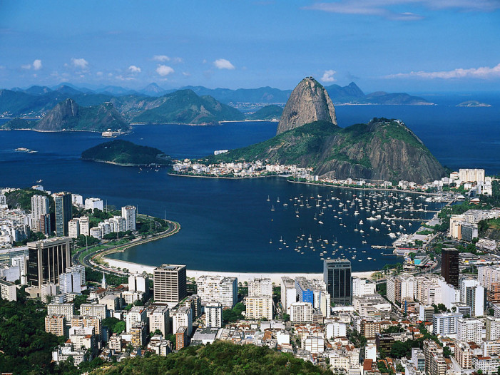 Top tourist places in Brazil