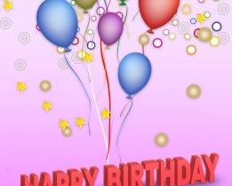 Free Sample Of Birthday Greeting Speech