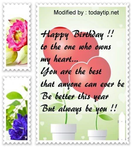 Birthday Message Kay Boyfriend: Best Happy Birthday Messages For My Boyfriend