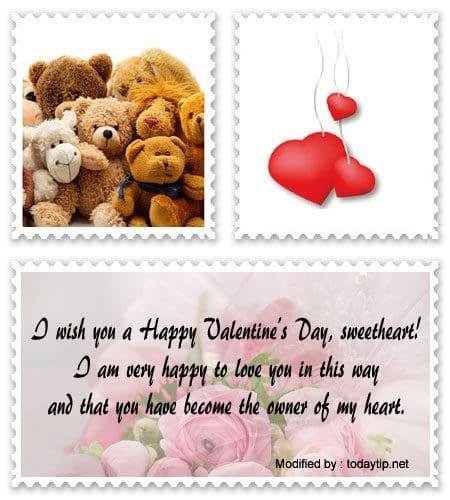 Message husband valentine sample for Romantic Valentine
