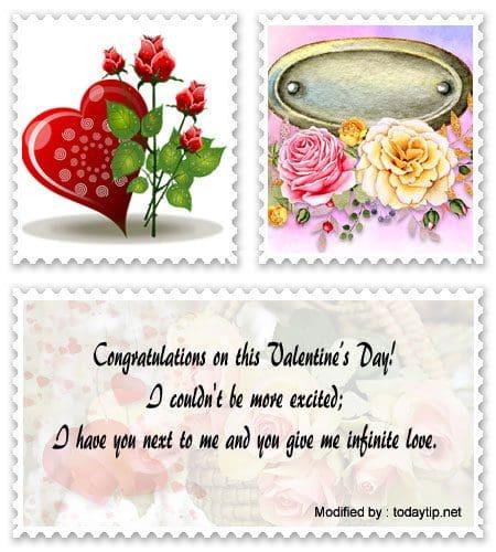 Husband message sample valentine for Valentines Day