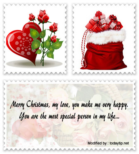 Romantic Christmas Messages   Love Merry Christmas wishes ...