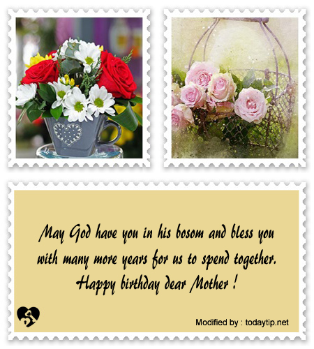 Nice Birthday Letter For My Mom | Mother Birthday Greetings