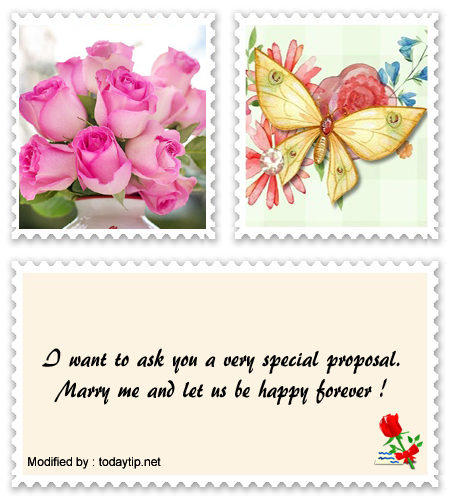 Romantic Marriage Proposal Messages | Love words for her for ...