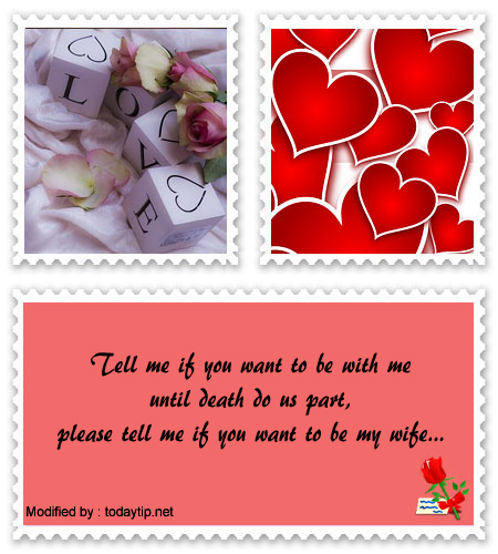 Romantic Marriage Proposal Messages | Love words for her for