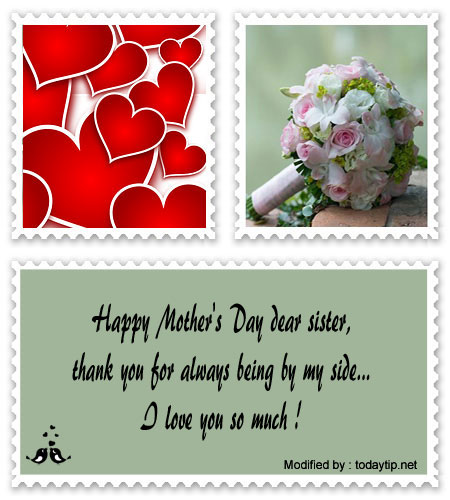 Mother\'s Day Messages For My Sister│Cute Mother\'s Day SMS ...