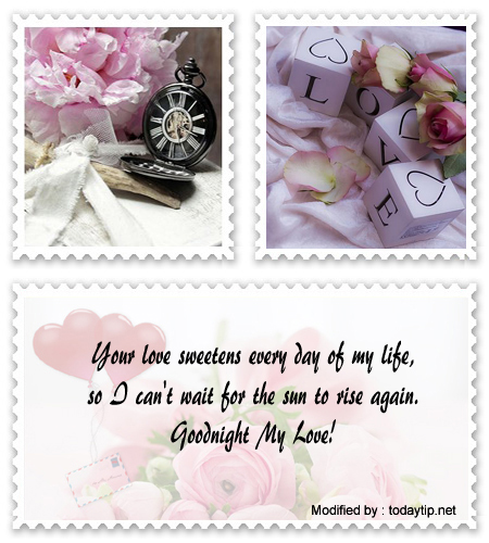 Good night love letter for my boyfriend